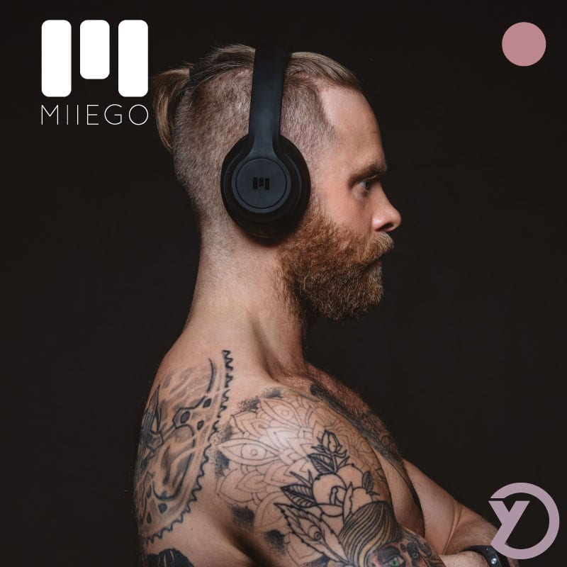 """Høretelefoner """"Boom"""" fra danske Miiego"""
